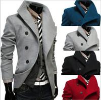 Cheap Jackets blends jacket Best Men Wool Blend jacket coat