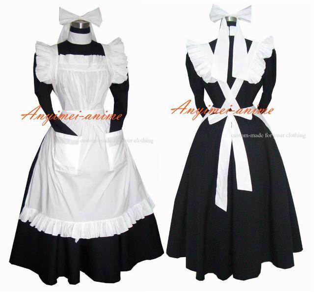Sissy Maid Dress Lockable Uniform Cosplay Costume Halloween Costumes Gothic  Lolita Cosplay Maid Costume Cosplay Costumes Sissy Maid Costume Online with  ... - Sissy Maid Dress Lockable Uniform Cosplay Costume Halloween