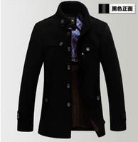 brand winter jacket for men - NEW High Quality Brand Jacket for men coats new casual mens thicken woollen jackets coat fashion men s jacket men overcoat winter jacket
