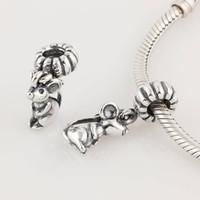 al por mayor granos de plata animales-Plata S925 Tornillo Rata animal cuelga el encanto del grano adapta Europea joyería de Pandora pulseras colgantes de los collares