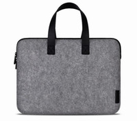 Handbag & Sleeve china wholesale handbags - Cartinoe MacBook Laptop Handbag Wool Felt Bag for Apple Air Pro inch Retina Notebook Fashion Deluxe Protective Sleeve Pouch Q2