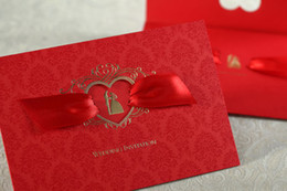 Wholesale cw1041 new fashion Invitation card wedding invitations card custom printing any text