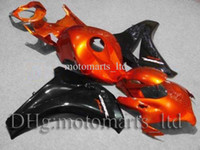 Wholesale Orange black INJ CBR RR INJECTION MOLD CBR1000 RR Kit Fairing for Honda CBR RR CBR RR Fireblade AA