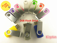 Wholesale GB swivel custom USB Flash Memory Pen Drives Sticks Disks Discs GB USB Pendrives Thumbdrives0023w