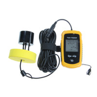 Wholesale Portable Fish Finder Depth Sonar Sounder Alarm Transducer Fishfinder m