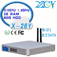 Wholesale cheap embedded mini computer mini pc hdmiXCY X Y x600 thin client pc windows7