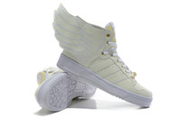 Wholesale night fluo light wings shoes sneakers sports shoes