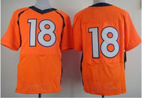 Wholesale NEW ARRIVE Football jerseys orange elite jerseys sunnee