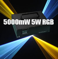 Auto strobe 5000mw laser - 5000mW W K pps ILDA animation RGB full color laser light laser stage lighting dj equipment