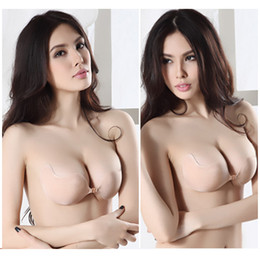 Wholesale New Arrival Fashion Push Up LIFT Self Adhesive Silicone Closure Backless Strapless Invisible Bra New Seamless bras