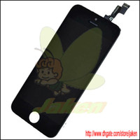 For Apple iPhone 5S LCD Screen Panels Black Hot Sale Original Black Full LCD Screen Display Replacement With Touch Digitizer Assembly For Apple Iphone 5S 5GS 1PCS Free By Singapore Air