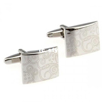 Wholesale where to buy cufflinks Fashion Silver Copper Alloy Cufflinks for menman s copper and white steel