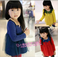 TuTu Spring / Autumn A-Line Hot Sale New Children's princess skirt girls dress Thickening and cashmere yarn together bottom dress
