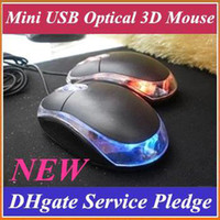 Wholesale EMS Mini USB Optical D Mouse Scroll Wheel Mouse Mice For PC Laptop Notebook JWS