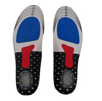 Wholesale S5Q Mens Gel Sport Insoles With Deodorant Arch Support Heel Cushion Full Length AAABCQ