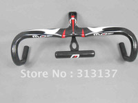 Wholesale EMS free black Pinarello Most TALON Full carbon road bike handlebar cmX90mm mm mm amp cmx100mm mm mm