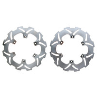 For Yamaha Brake Discs zc844 853 Front and Rear Brake disc rotor for YAMAHA WR YZ 125 250 2002 2003 2004 2005 2006 2007 2008 2009 2010 2012 2013 2014