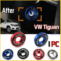 Wholesale 1Pc car Ignition Key Ring switch key cover For Volkswagen VW Tiguan Golf Polo Lavida Skoda Audi with colors