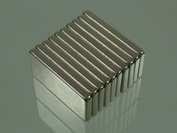 Wholesale whole sale block mm mm mm N52 Neodymium Permanent Strong Magnets block rare earth Craft