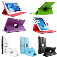 Wholesale S5Q Rotating Stand Leather Case Cover For Samsung Galaxy Note N8000 N8010 AAACIQ