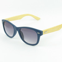 Wholesale Hot sale Wood Sunglasses Designer UV400 Banboo Sunglass Eyewear glasses