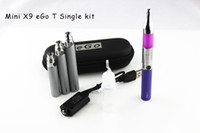 eGo T Battery Mini X9 Atomizer Electronic Cigarettes Clearom...