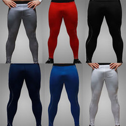 Wholesale Mens Thermal Compression Under Base Layers Long Pants Tights Leggings