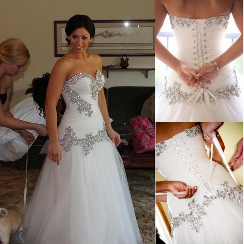 2014 Wedding Dresses Pnina Tornai Mermaid Sweetheart Bling Bling ...