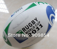 Wholesale hot sales official size high quality machine stitched rugby ball
