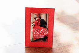 Wholesale BHP03 classics red photo Invitation card wedding invitations card custom printing any text