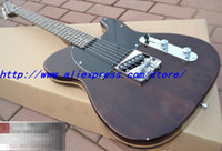 Wholesale TELE th Anniversary Custom Shop Telebration Limited Dark Stained Spruce Body Core Rosewood Telecaster Natural Sandwich Electric Guitar