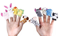 Wholesale Lovely Baby Finger Puppets Kids Hand Story Learning Toys For Xmas Gifts ZEP