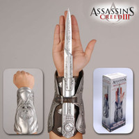 Silver weapons - New Arrival Cosplay NECA Assassin s Creed Hidden Blade weapon Brotherhood novelty toys Chritmas Gift
