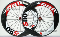 Wholesale SRAM s80 mm clincher carbon wheelset C road bike full carbon bicycle wheels