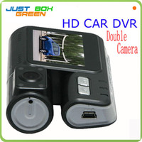 Wholesale High Quality Car DVR HD Screen FHD Camera Car Video Recorder Dual Camera Car Road Crash Black Box Night Vision