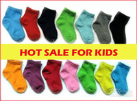 best toddler socks - Best selling Whole Mixed Cotton pairs baby boys girls socks Cheap sweet candy colour Unisex baby toddler sock fast BS003
