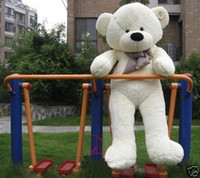 Wholesale Stuffed Teddy Bear Giant Big Cute Beige Brown Plush Huge Soft Cotton Toy cm quot