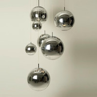 AC110V 220- 230V Tom Dixon Mirror Ball Pendant Light electrop...