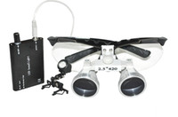 Wholesale 2 X mm Dental Surgical Medical Binocular Loupes LED Head Light Lamp brand new RDL