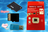 Wholesale Sell GB Class Micro SD TF Memory Card with Adapter Retail Package Flash SD SDHC Cards Free DHL0663B