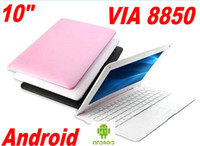 Cheap New! 10 inch notebook android 4.2 VIA 8880 Dual Core 512MB 4GB cheap laptop MID with Camera netbook XB10-1