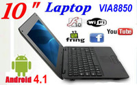 Wholesale 5pcs inch android VIA cortex A9 GB cheap laptop MID with Camera XB10