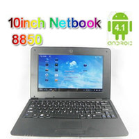 Wholesale 10pcs New Arrivals quot Android Laptop VIA WM NoteBook inch Android Netbook XB10