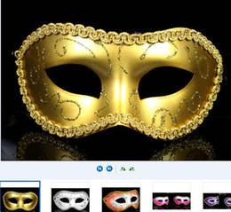 Sexy Women Men Mask Mardi Gras Party Masquerade Halloween COSPLAY Dress Ball Performance Unisex Colored Drawing Masks Christmas Wedding veil