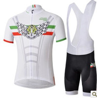 Wholesale Latest New Chain Italy Demon White Straps Short Suit Road Bike Riding Riding Straps Short Suits Mountain Bike Clothing Cycling Jersey Pants