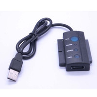 Wholesale USB to IDE SATA External HDD drive adapter cable converter fc13