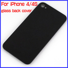 For iPhone 4 4S Back Glass Cover Housing GSM 10 Colors A+ Quality by China Post Retail or Wholesale