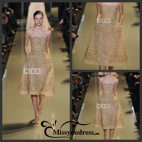 Reference Images Strapless Chiffon Elie saab Gold Full Body Beaded Evening Dress Strapless knee Length Evening Dress SB-013