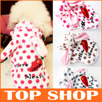 Wholesale Dog Apparel Sizes Colors Pet Clothes Winter Paparazzi Shirt Hair Brushed Warm Dog Coat