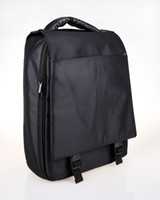 Wholesale Black Backpack Padded Shoulder Straps with PVC Handle Convenient Buttons and Zipper Design for Use New on Sale